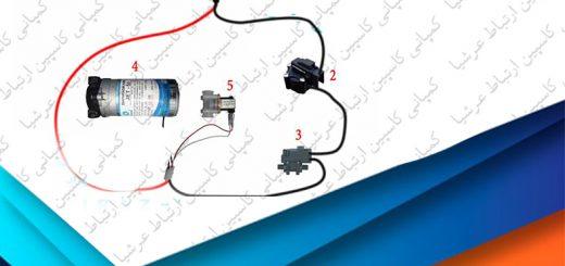 مدار برقی دستگاه تصفیه آب خانگی آکواتک