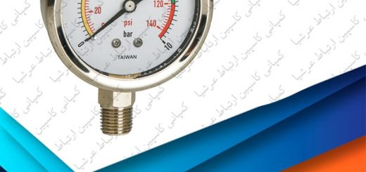 گیج فشار دستگاه تصفیه آب خانگی آکواتک