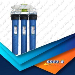 عملکرد دستگاه تصفیه آب نیمه صنعتی 220 لیتری آکواتک